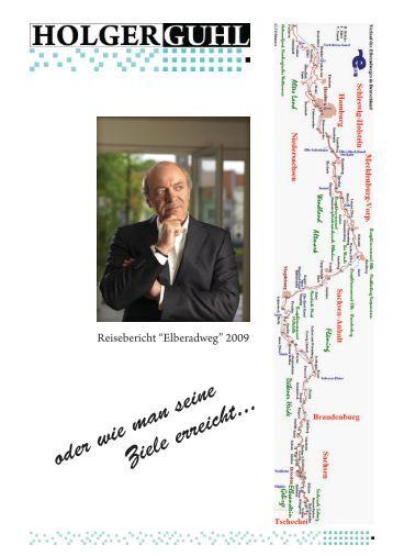 Elberadweg - Tourbericht 2009 - Holger Guhl Coaching