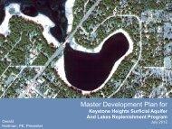 Master Development Plan for