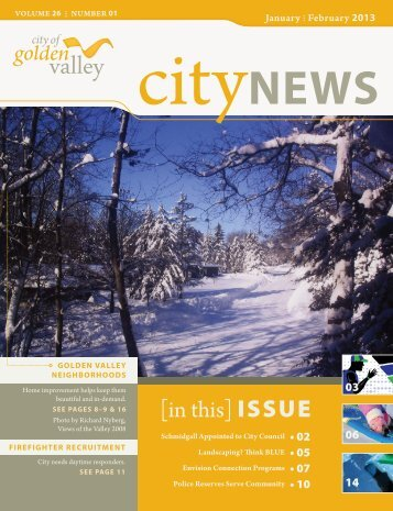 Golden Valley CityNews - November December 2012