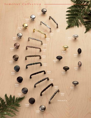 Somerset Collection - Top Knobs