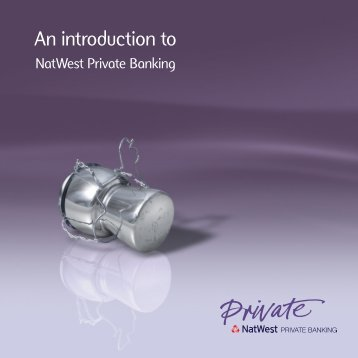 An Introduction To NatWest Private Banking