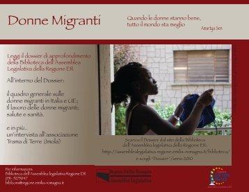 Donne Migranti - Assemblea Legislativa