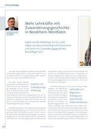 Lehrkräfte mit Zuwanderungsgeschichte in Nordrhein ... - schul-welt.de