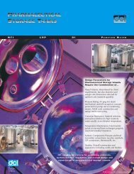 DCI Pharmaceutical Storage Tanks Brochure