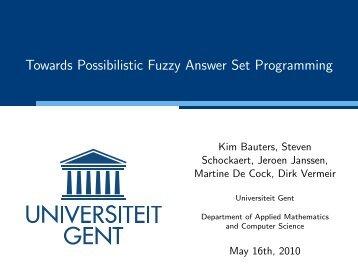 slides - Universiteit Gent