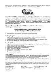 Heilerziehungspfleger/Ergotherapeuten (m/w) - Caritas Werkstätten