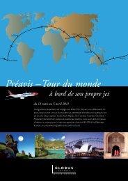 Préavis – Tour du monde - FRI Travel