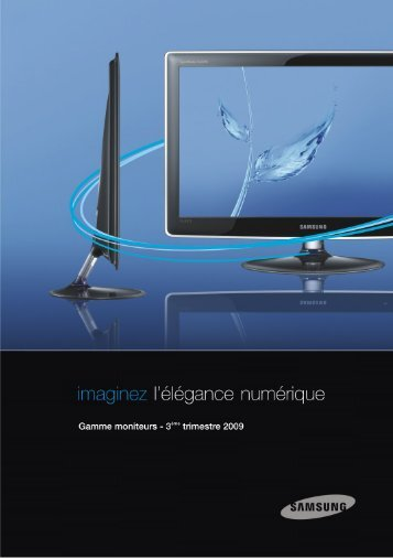 Catalogue Moniteur Q3 Sept.2009