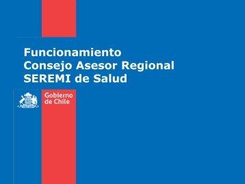 Funcionamiento del CAR - SEREMI de Salud Región Valparaíso