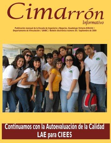Cimarrón I 33 - Universidad Autónoma de Baja California