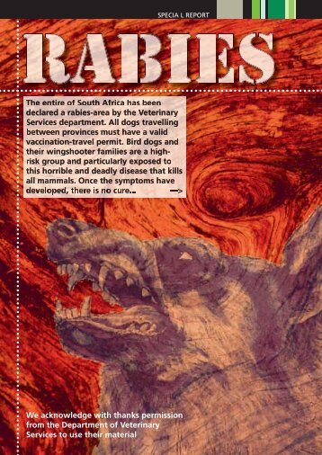Rabies - Wingshooters.co.za