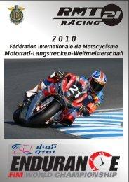 Motorrad-Langstrecken-Weltmeisterschaft - GSG Mototechnik GmbH