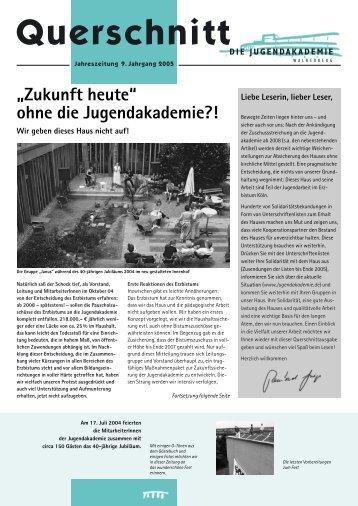 Ausgabe 2005 - Jugendakademie Walberberg