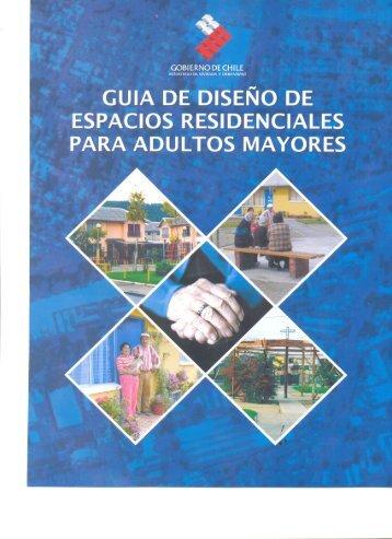 Guía de Espacios Residenciales para Adultos Mayores