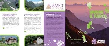 VIVERE IL PARCO - Parco Nazionale Dolomiti Bellunesi