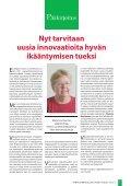 Koko lehti pdf-muodossa - Vanhus- ja lähimmäispalvelun liitto - Page 3