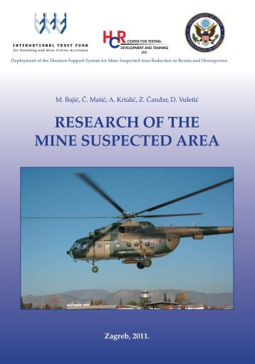 research of the mine suspected area