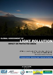 Global assessment of light pollution impact - Center for International ...