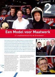 B7 Brochure Een Model voor Maatwerk 2 e loopbaan
