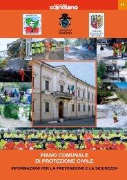Opuscolo informativo sul Piano comunale di Protezione civile