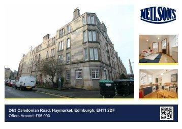 24/3 Caledonian Road, Haymarket, Edinburgh, EH11 2DF Offers ...