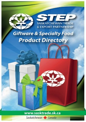 STEP Member Giftware and Specialty Food Product Directory
