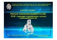Hydrologie prezentace_listopad 2011 [Režim kompatibility]