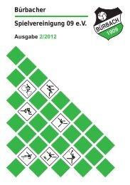 Ausgabe 2/2012 - Förderverein der Spielvereinigung Bürbach 09