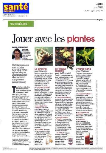 Jouer avec les plantes - Pranarôm