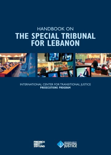 handbook on the special tribunal for lebanon - Bibliothek der ...