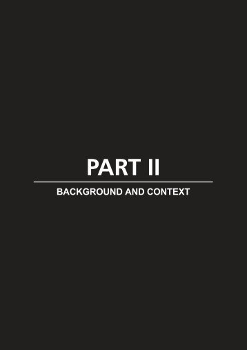 Part II: Background and context - 351Kb ~ 2 min (32 pages) - SARPN