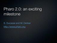 Pharo 2.0 - RMoD - Inria