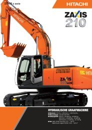 PDF (2,88 MB) - Hitachi Construction Machinery