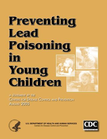 Preventing Lead Poisoning in Young Children - CDC Stacks