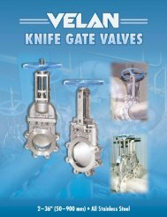 standard knife gate valve design features - Hasmak.com.tr