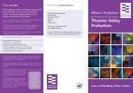 Thames Valley What is Probation leaflet.indd