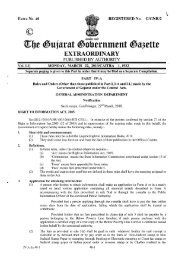 Rules and order passed by Govt. of Gujarat under RTI Act 2005 vide ...