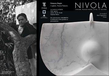 Pieghevole Nivola CA:Layout 1 - Biblioteca Provinciale di Cagliari