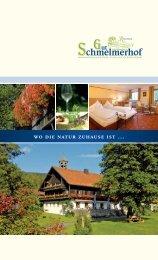 Prospekt downloaden - Romantik Hotel Gut Schmelmerhof