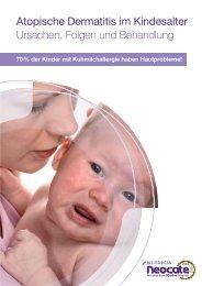 Atopische Dermatitis im Kindesalter Ursachen, Folgen ... - Neocate