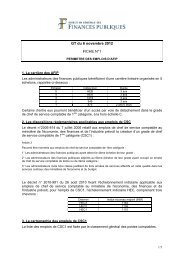 fiche 1 et annexe : Périmètre des emplois d'AFIP