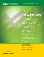 New Mexico - Building Energy Codes