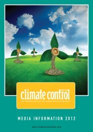 Media inforMation 2012 - Climate Control Middle East