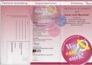 Postkarte Anmeldung - Jugendserver Niedersachsen