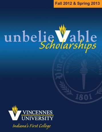 Indiana's First College - Vincennes University Alumni Association