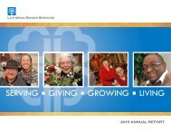 the Year in Review - Lutheran Senior Services