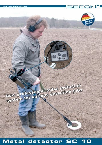 Metal detector SC 10 - Secon