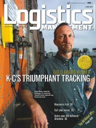 June - Logistics Management