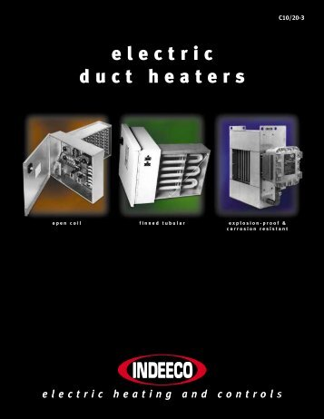 Electric Duct Heaters - Titan Air
