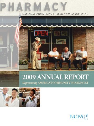 2009 annual report - National Community Pharmacists Association